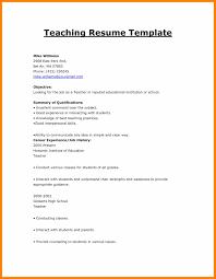 8 Format Of Resume For Teacher Actor Resumed