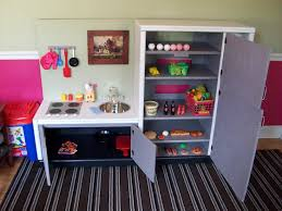 Homemade Play Kitchen Diy Play Kitchen For The Love Of Coupons