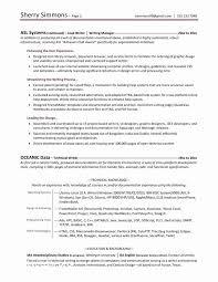 Resume Writing Services Atlanta A Good Resume Example