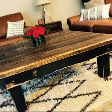 rustic farmhouse coffee table large