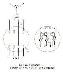 kwh meter wiring diagrams Form 2S Meter Schematic Diagrams at Wiring Diagram Meter Socket