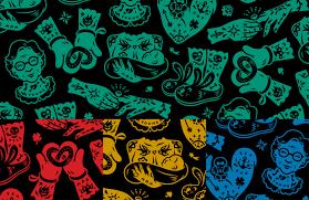 Tattoo Mall On Behance Patterns Tattoos Mall Branding