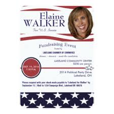 political fundraiser invite political fundraiser invitations announcements zazzle