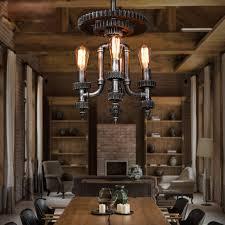 vintage industrial lighting fixtures. industrial mechanical gear shaped 4light chandelier vintage lighting fixtures e