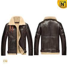 mens b 3 sheepskin leather er jacket cw856118 sheepskin jackets leather