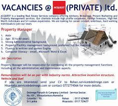 Sales Executive Job Description Sales Executive Colombo Job Vacancy In Sri Lanka With Real Estate