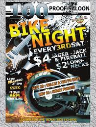 motorcycle club flyers florida bike nights slicks scooter schedule www