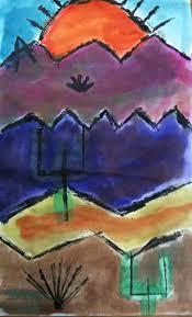 paul klee painted desert for third grade k 6 art