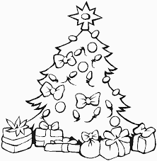 Christmas Tree Coloring Pages Coloring Book 20 Free Printable