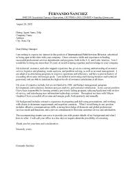 Cover Letter Template Executive Director Resume Examples