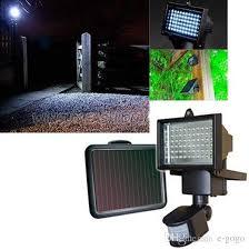 Solar Security Flood Light