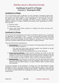 29 Fitness Instructor Resume New Template Best Resume Templates