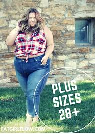 most plus size retailers would have us believing that anyone over a size 28 is plain outta luck yet when i walk down the street i don t see women size 28