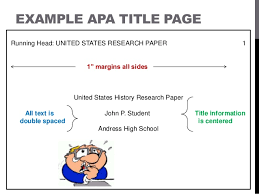 Apa Style Essays Term Papers In Apa Format Resume History