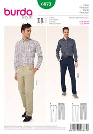 Mens Pants Pattern Stunning Burda 48 Men's Pants