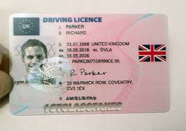 Uv Fake Driving Uk Holograms Licence With amp;