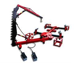 portable frame machine with 2 ton crane