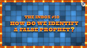 In The Christ Prophet Inbox False We Do A Identify How 6zqxUr68