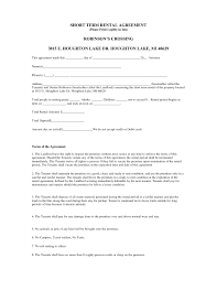 Home Rental Agreement Landlord Agreement Letter Template Copy Home Rental Agreements 21