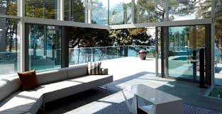 new open corner sliding patio door from reynaers at home lets the outside in