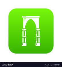 Archway Graphic Designs Archway Construction Icon Simple Black Style