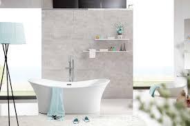 orfeo acrylic oval freestanding bathtub