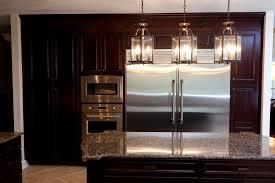 countertop lighting. Galley Kitchen Light Fixtures White Marble Countertop Round Pendant Lamp Black Stainless Steel Single Bowl Range Hood Red Lighting