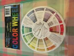 Details About Artist Oil Acrylic Pocket Colour Wheel Paint Mixing Guide Painting Art