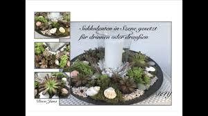 Diy Sukkulenten Sommerlich Gestalten Tischdeko Für Den Innen Oder