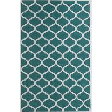 bowery hill 3 x 5 new zealand wool rug in emerald green