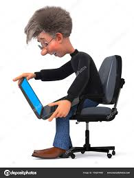 student sitting in chair. Simple Sitting 3d Illustration Funny Student In Glasses Sitting Chair U2014 Stock Photo To Student Sitting In Chair E