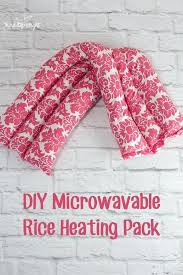 microwavable heating pads homemade rice heating pack tutorial mommy crafts inspiration of microwave heating pad microwavable