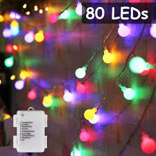 DooVee <b>LED</b> Globe <b>Ball</b> String <b>Lights</b>,80 <b>LED</b> Globe String <b>Lights</b> ...