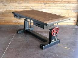 plan rustic office furniture. Best 25 Industrial Desk Ideas On Pinterest Pipe Iron Regarding Rustic Plan Office Furniture