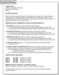 What Is A Functional Resume Cool Functional Resume Format Focusing On Skills And Experience Dummies