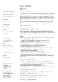 ... Peachy Design Payroll Resume 9 Payroll CV Sample ...