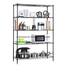 Wire kitchen rack Cupboards White Black Powcder Coated Metal Wire Shelving Tier Adjustable Utensil Storage Kitchen Rack Amazoncom China Black Powcder Coated Metal Wire Shelving Tier Adjustable
