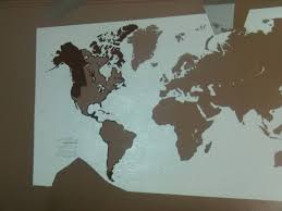 projector wall paintDIY Painting World Map On The Wall