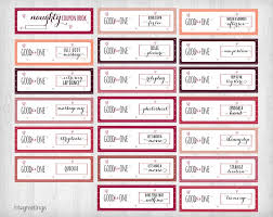 Printable Naughty Coupons For Boyfriend Husband Significant Other