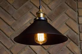 vintage metal industrial pendant lamps
