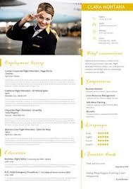 12 Best Cabin Crew / Flight Attendant Résumé Templates - Cv Word ...