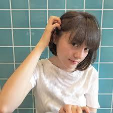 かわいいヘアアレンジボブはオフィスでどうアレンジする動画で説明