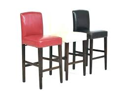 red leather bar stools. Red Leather Bar Stools Upholstered With Backs Wooden Stool Arms Backrest And