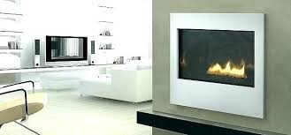 gas fireplace in basement direct vent installation corner