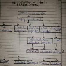Unit 2 Organization Chart Of The Housekeeping Department