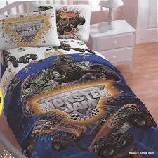 monster jam bedding sets toddler set