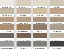 Tec Grout Color Chart