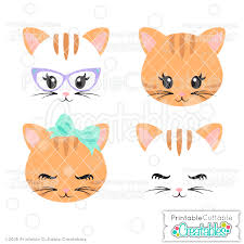 cat face clipart. Beautiful Cat Cute Cat Face SVG Files In Clipart
