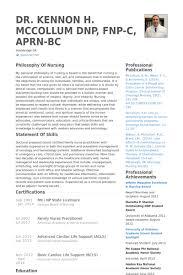 Resume Template Free Nurse Practitioner Resume Samples Visualcv