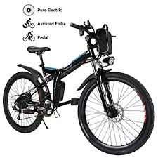 <b>Dohiker Electric</b> Bike Folding Bicycle 14 <b>inch</b> 250W Motor Max <b>16</b> ...